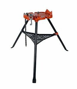 Reconditioned Ridgid 450 Portable Tristand Chain Pipe Vise 40222