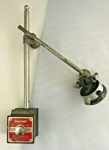 Starrett Magnetic Base 657 With Dial Indicator 81 145