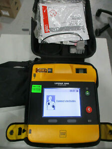 Physio Control Lifepak 1000 Graphical Aed Battery Pads Case