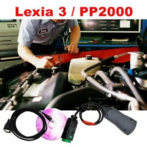Full Chip Lexia 3 Pp2000 For Citroen peugeot Diagnostic Tool With Diagbox V7 83