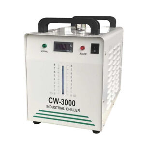 Co2 Glass Laser Engraver Cold Thermolysis Cooler Industrial Water Chiller 110v
