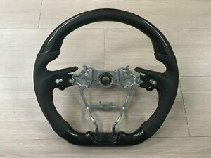 Mit Toyota Corolla Hatchback 2019 on Carbon Fiber Look Leather Steering Wheel
