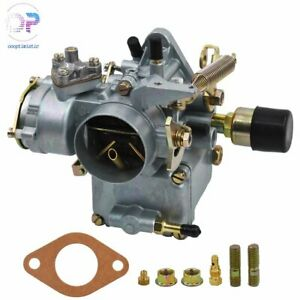 Carb Carburetor Fit For Vw 34 Pict 3 12v Electric Choke 1600cc 113129031k Aplus