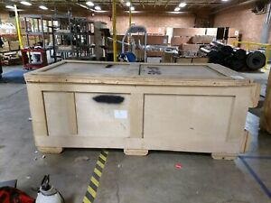 Wooden Shipping Crate 43 X 46 X 89 Heavy Duty Storage Cargo