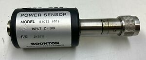 Boonton Electronics Power Sensor Model 51033 6e Laboratory