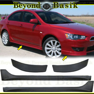 2008 11 2012 2013 2014 2015 Mitsubishi Lancer Factory Style Front Sides Body Kit