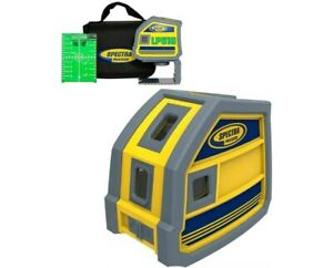 Spectra Precision Lp51g 5 point Green Beam Laser Level