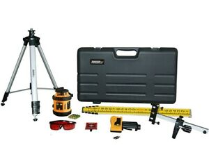 Johnson Level Self leveling Rotary Laser W Laser Receiver