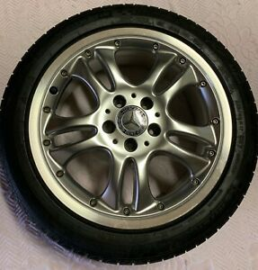 4 Mercedes Benz Oem Bbs 17 Wheels With Michelin Tires A2084000202 B66471671