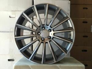 18 Amg Staggered C400 Style Rims Wheels Fits Mercedes Benz Sl Class Sl500 Sl550