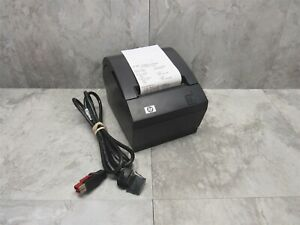 Hp A799 c40w hn00 Pos Thermal Receipt Printer W 6 Powered Usb Cable