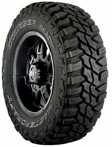 4 New Mastercraft Courser Mxt M t Mud Tires Lt285 70r17 Lre 10ply Rated