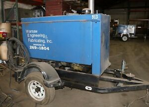 miller Big Blue 400d Diesel Welder Air Cooled Engine