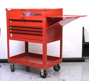 Snap On Nm09171a Special Edition Red Roll Cart Storage Toolbox 4 Drawers