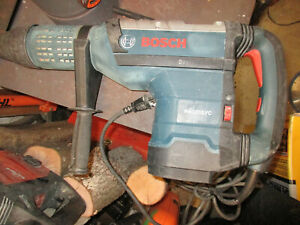 Bosch Sds max Rotary Hammer Drill W Case Rh1255vc Used Works Great