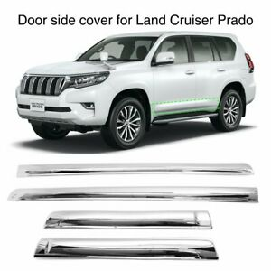 For Toyota Land Cruiser Prado Fj150 2010 2019 Door Body Side Line Cover Molding