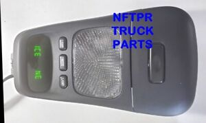 Ford Bronco Overhead Console Display Compass Temp Center Insert With Led Bulbs