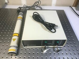 Spectra Physics 117a Stabilized Hene Laser System Single Frequency Slm 1 5mw