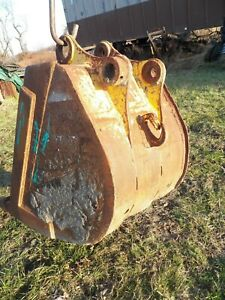 Used 26 Backhoe Excavator Bucket Cat Caterpillar 308 And Others 50mm Pins
