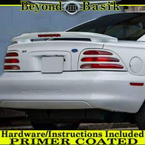 1994 1995 1996 1997 1998 Ford Mustang Cobra Factory Style Spoiler W l Primed