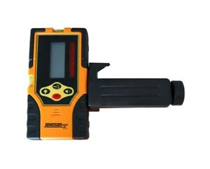 Johnson Level Two sided Backlit Lcd Display Red Beam Rotary Laser Detector