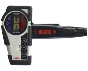 Agatec Rcr500 Rotary Laser Level Detector Clamp W integrated Remote Control