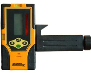 Johnson Level Two sided Green Beam Rotary Pulsed Line Laser Detector
