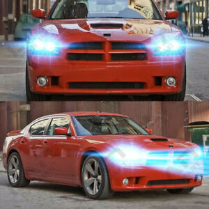 For Dodge Charger 2006 2007 2008 2009 2010 4pc 8000k Led Headlight Light Bulbs