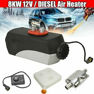 8kw 12v Knob Switch Air Diesel Fuel Heater For Motor home Truck Bus Car 8000w