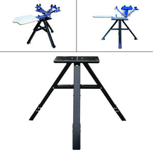 Metal Stander 4 Color 1 Station Screen Printing Press Stand vertical Stands Usa