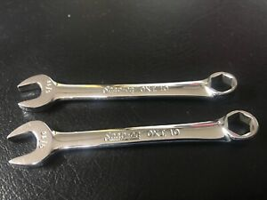Lot Of 2 Snap On Oxi10 6 Pt Combination Wrench 5 16 Usa Pre Owned Mint