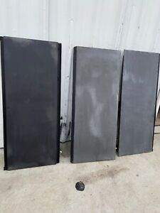 02 13 Chevy Avalanche Tonneau Bed Cargo Cover Panels Set Oem Gray Set R7412