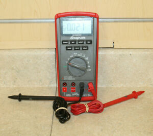 Snap on Eedm504d Digital Auto Ranging Multimeter Pre owned Free Shipping
