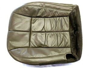 00 04 Jeep Grand Cherokee Limited Front Passenger Leather Seat Bottom Cover E4a