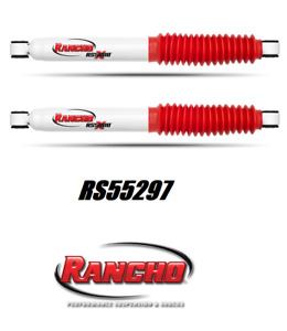 Rancho Rs5000x Rear Shock Absorber Set For Silverado Sierra Ram Hummer H2