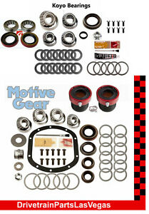 1997 2006 Jeep Tj Dana 30 35 Front Rear Master Bearing Kit Hd Outer Axle Seals