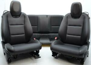 2010 2011 2012 2013 2014 2015 Camaro Rs Ss 2ss Front Rear Black Leather Seats