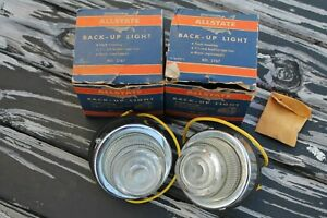 Nos Back Up Lamps Original Vintage Accessory Ford Chevy Dodge Truck