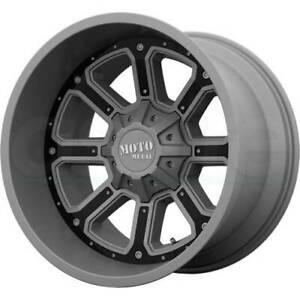 4 new 20 Moto Metal Mo984 Shift Wheels 20x10 8x170 24 Gunmetal Black Rims