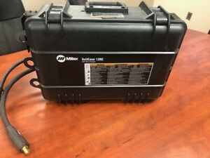 New Miller Portable Suitcase 12rc Cc Mig Welder Wire Feeder With Gas Flow Meter
