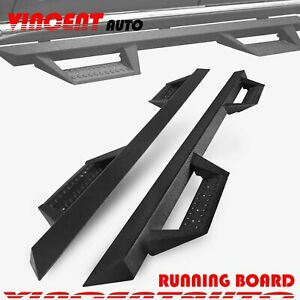 Fit 2005 2021 Toyota Tacoma Double Cab Side Step Running Boards Nerf Bar Bz