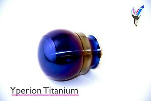 Titanium Shift Knob For Subaru Sti 6 Mt Bronze Weighted