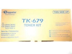 Copystar Cs 2540 3040 2560 3060 300i Tk 679 Toner Kit 1t02h00cs0
