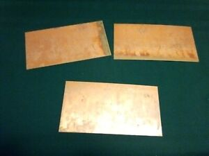 Three Double sided Copper Clad Laminate Pcb Circuit Board New Old Stock