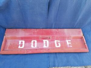 1965 5 1970 Dodge Sweptline Powerwagon Tailgate