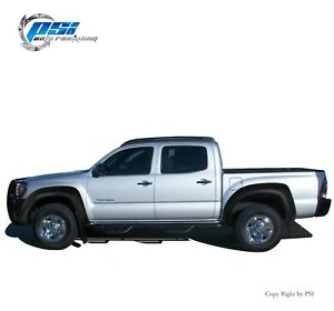 Extension Fender Flares Fits Toyota Tacoma 2005 2011 5 Ft Short Bed Textured