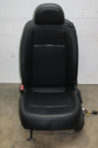 2012 Vw Beetle Coupe Driver Front Seat Assembly Black Leather