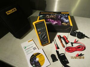 Fluke 233 Automotive Multimeter True Rms Remote Display Detachable Face W case