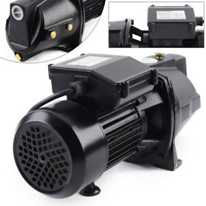 Heavy Duty Water Jet Pump 1 Hp Shallow Well Jet Pump W Pressure Switch 44 Ip Us