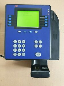 Adp 4500 Employee Time Clock Quick Punch Touch Id Free Shipping